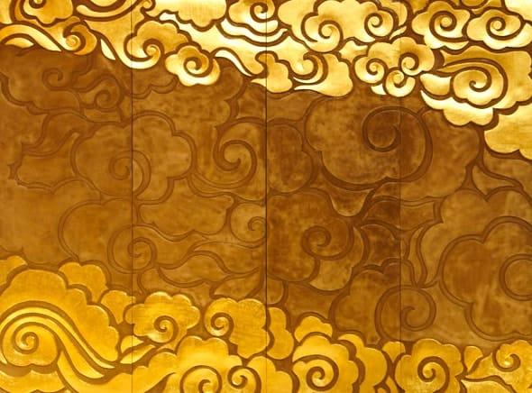 24 Karat Gold Leaf Wall