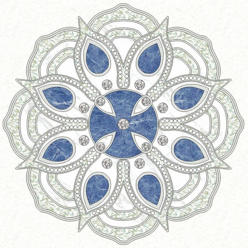 Swarovski Blue Diamond